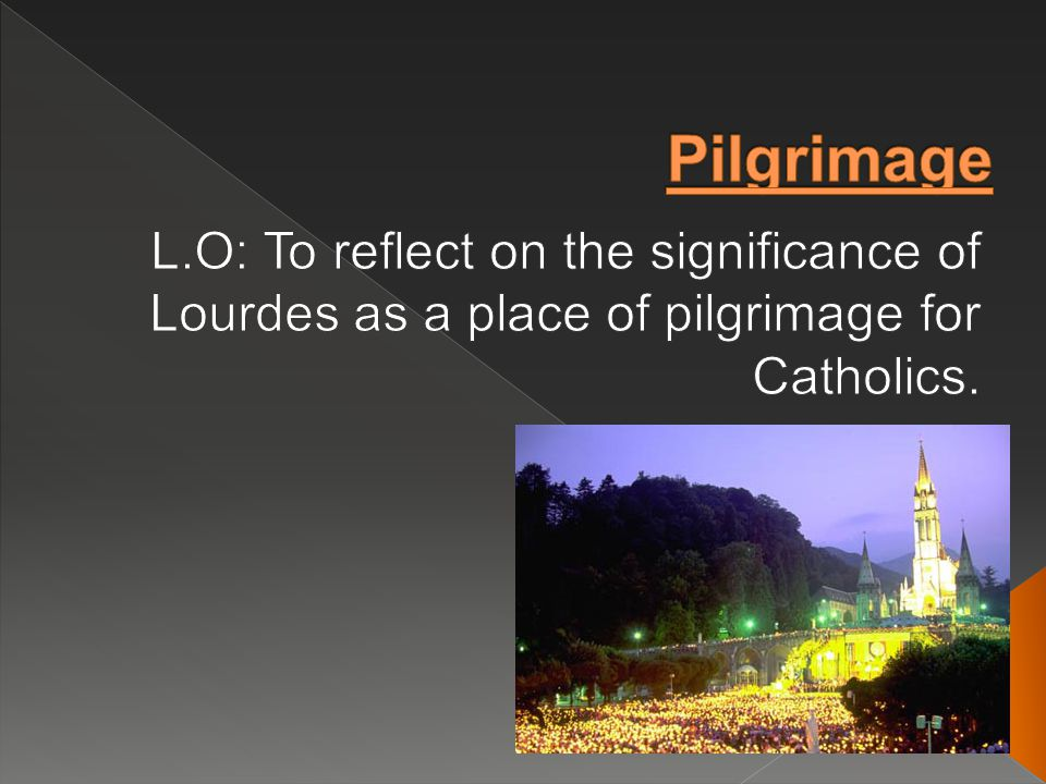  Around five million pilgrims and visitors travel to Lourdes each year, including many who are seriously ill or handicapped.
