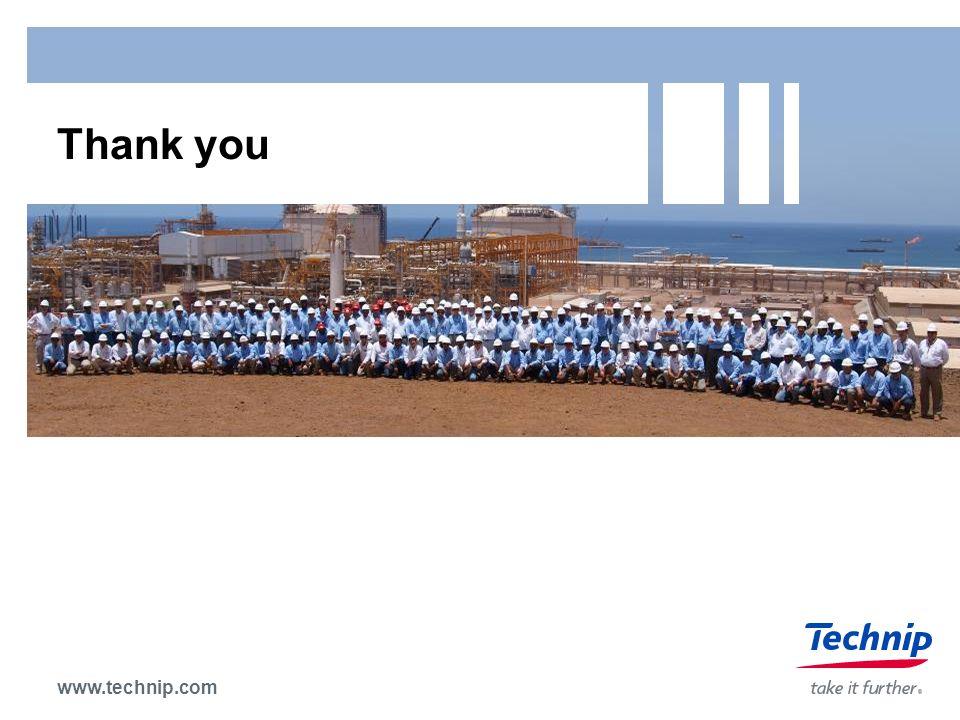 www.technip.com Thank you