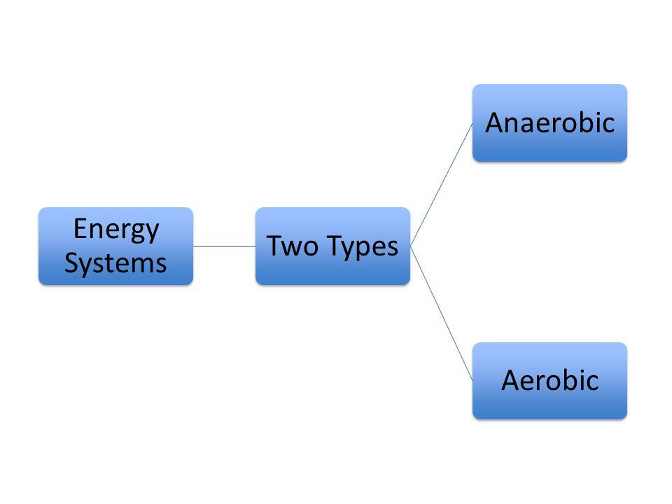 Energy Systems Two TypesAnaerobicAerobic