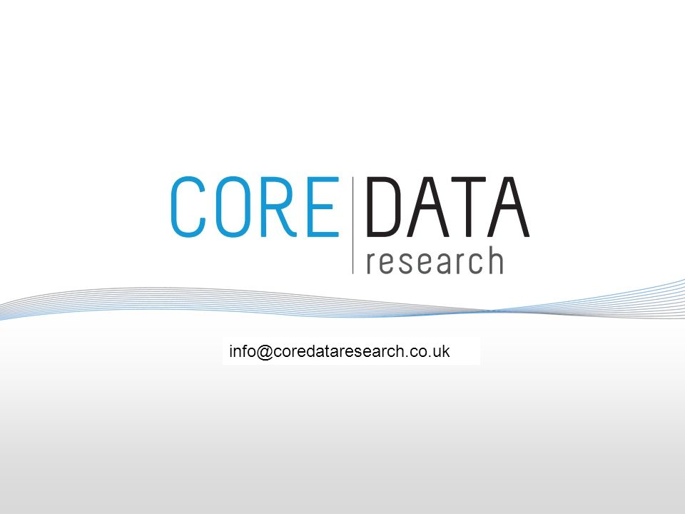 info@coredata.com.au info@coredataresearch.co.uk