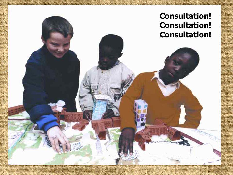 Consultation! Consultation! Consultation!