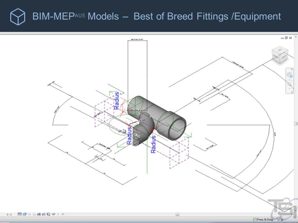 BIM-MEP AUS Models – Best of Breed Fittings /Equipment Manufacturer's Proprietary Selection Software Procurement Scheduling Interface