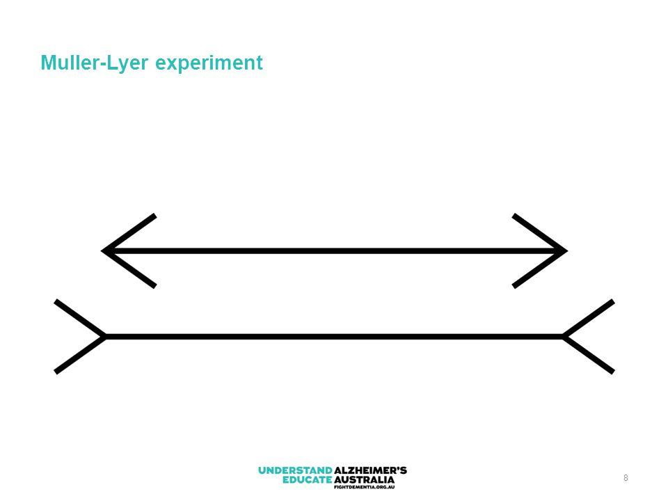 8 Muller-Lyer experiment