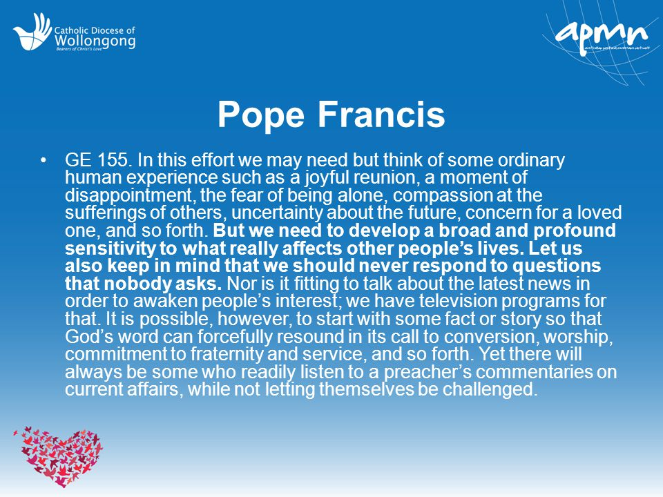 Pope Francis GE 155.