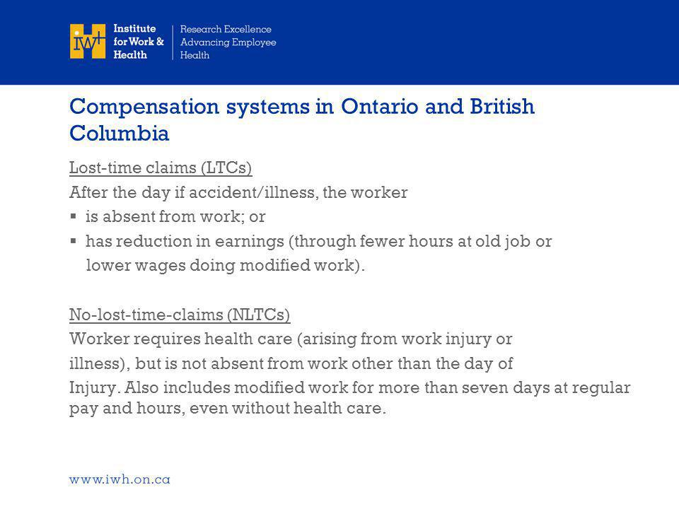 Older age and the consequences of work injuries?