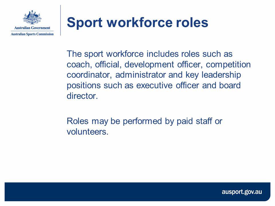 Sport Workforce Audit Tool: How will it help sporting organisations.