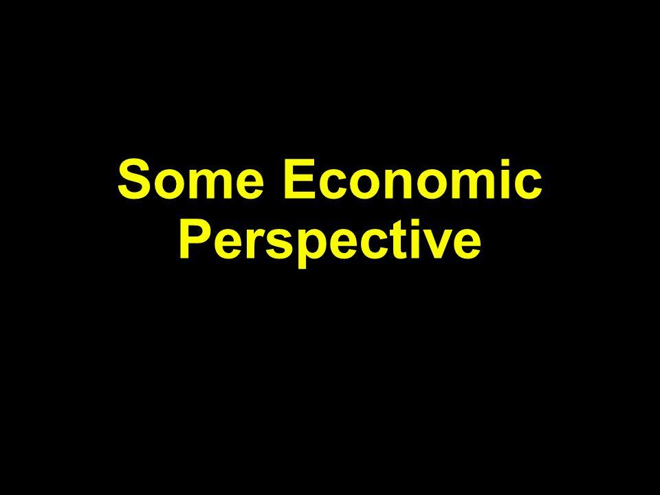 Some Economic Perspective