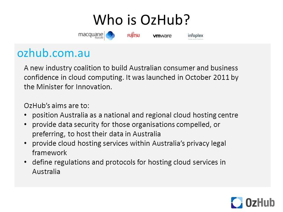 Who is OzHub.