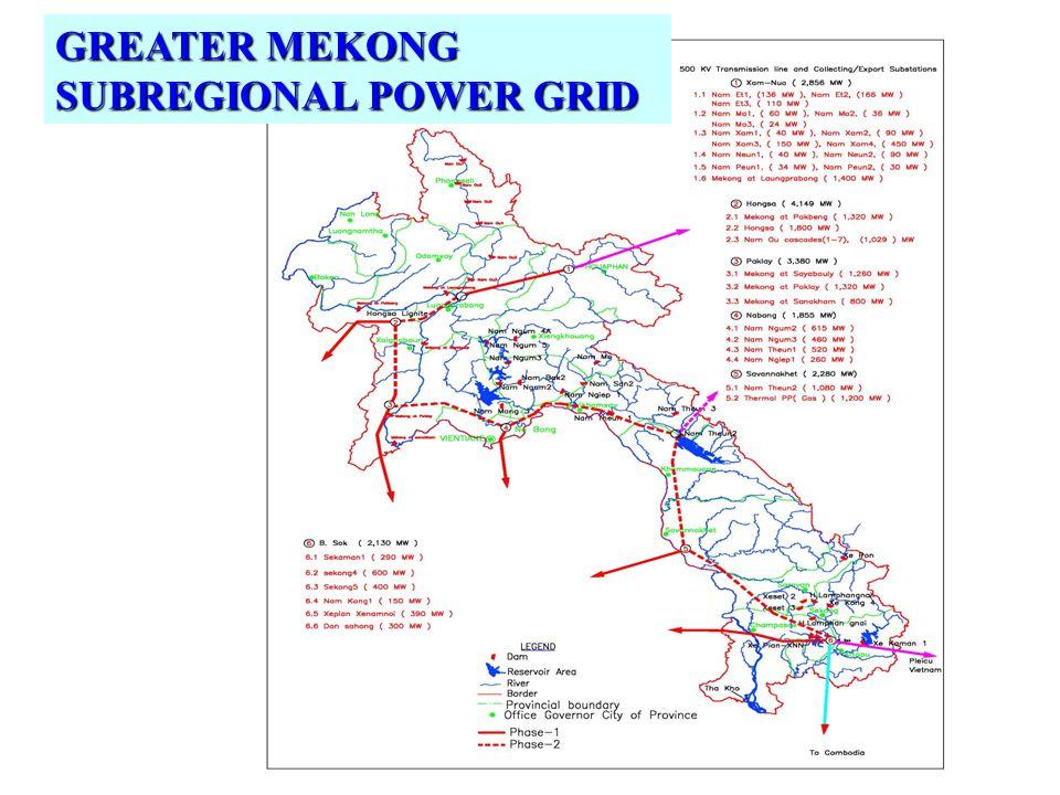 GREATER MEKONG SUBREGIONAL POWER GRID