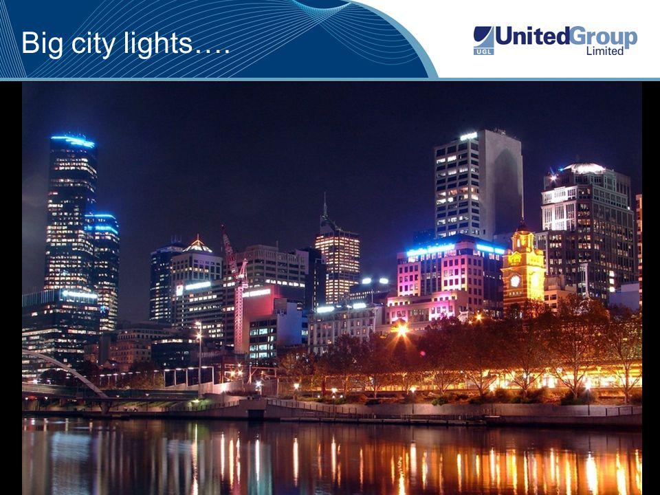 5 Big city lights….