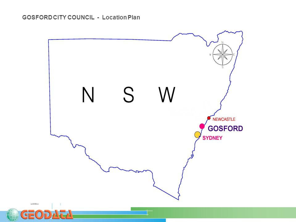 GOSFORD CITY COUNCIL - Location Plan