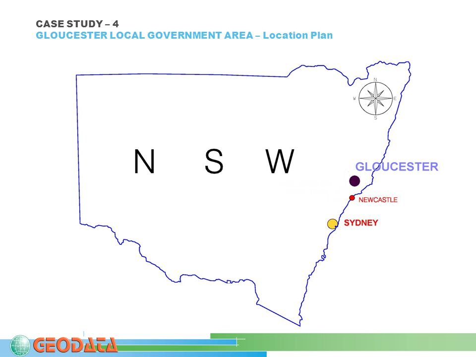 CASE STUDY – 4 GLOUCESTER LOCAL GOVERNMENT AREA – Location Plan