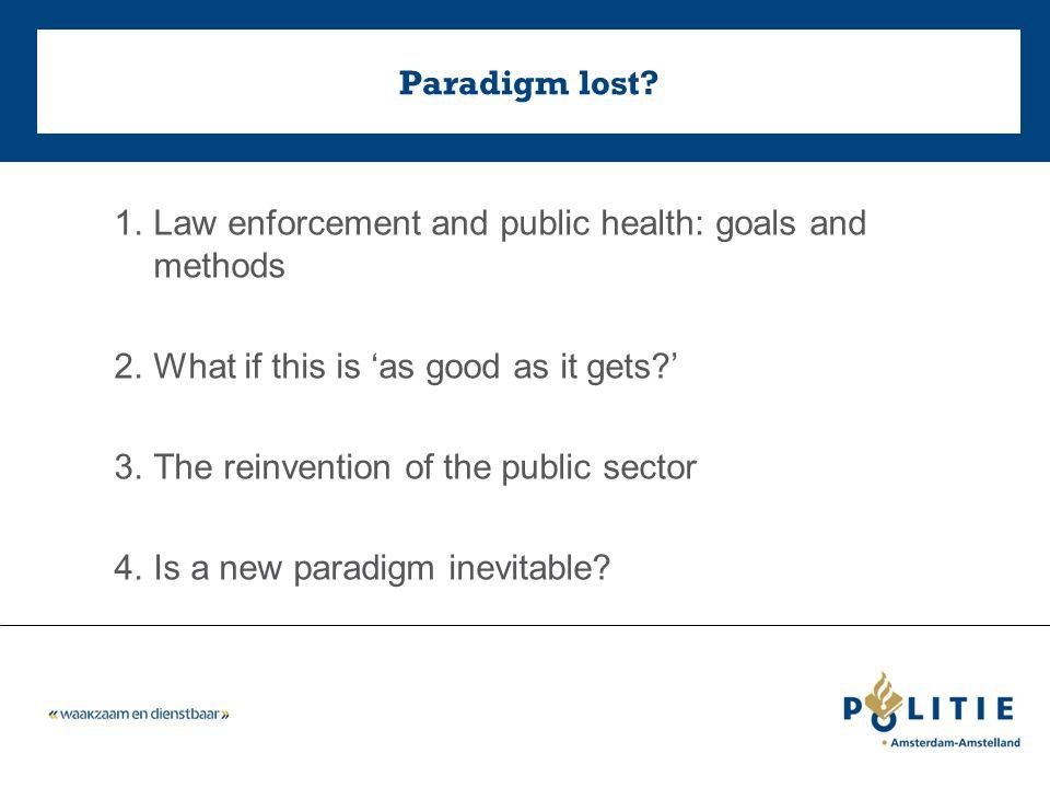 Paradigm lost.