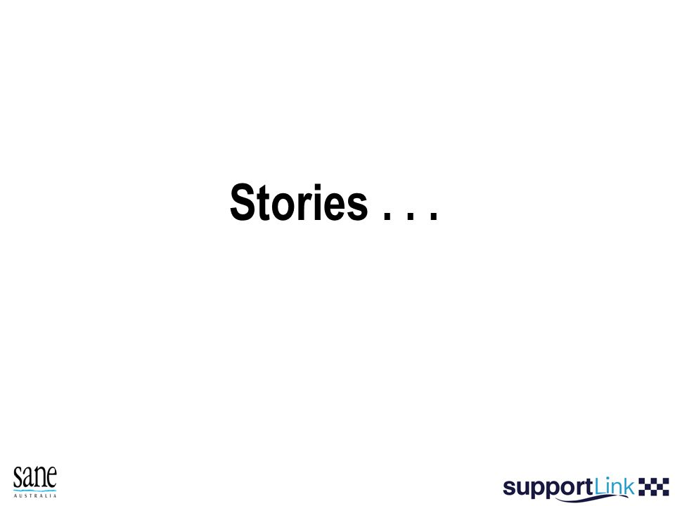 Stories...