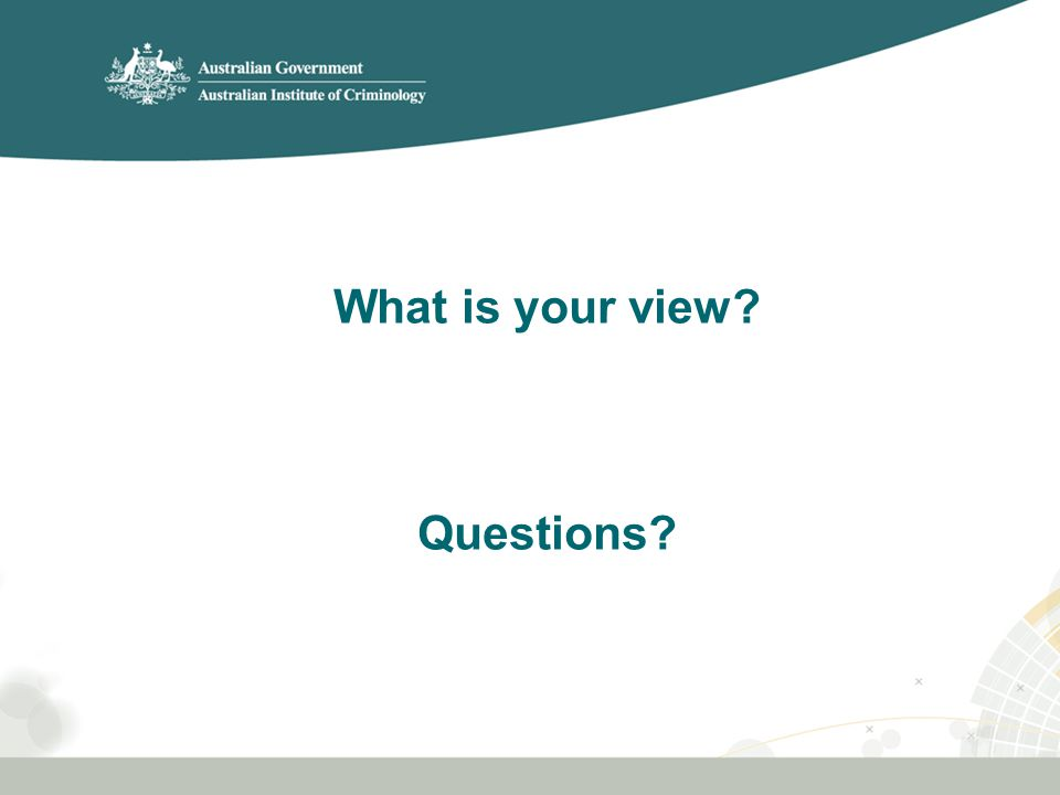 What is your view Questions