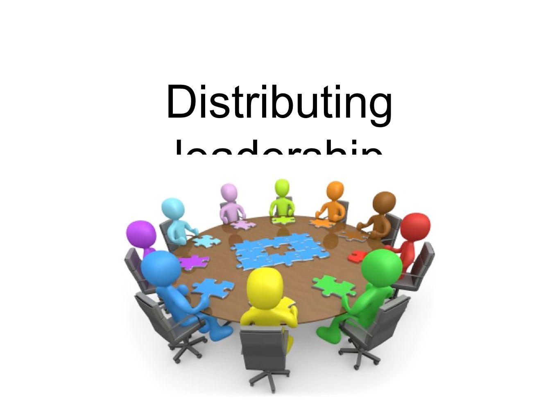 Distributing leadership