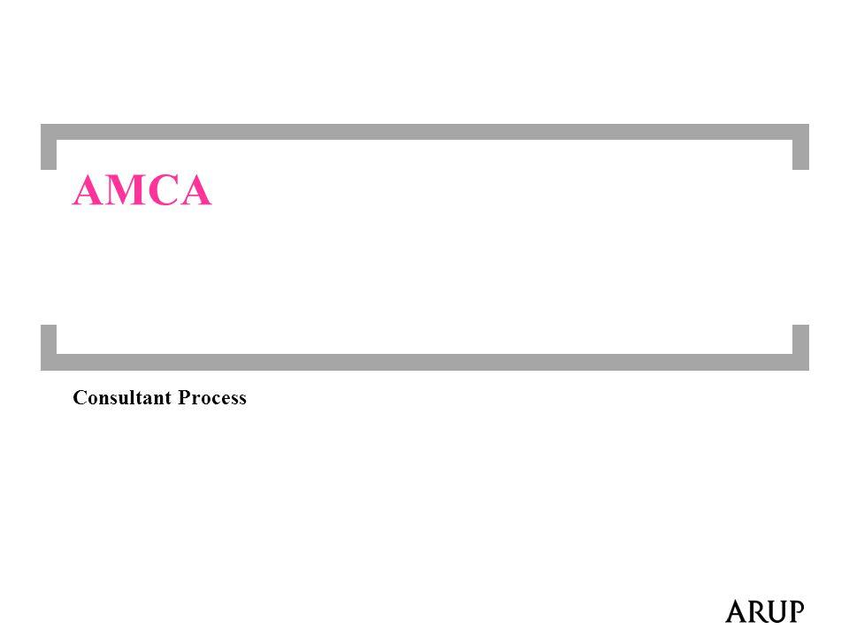 AMCA Consultant Process