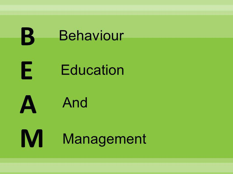 Behaviour Education And Management