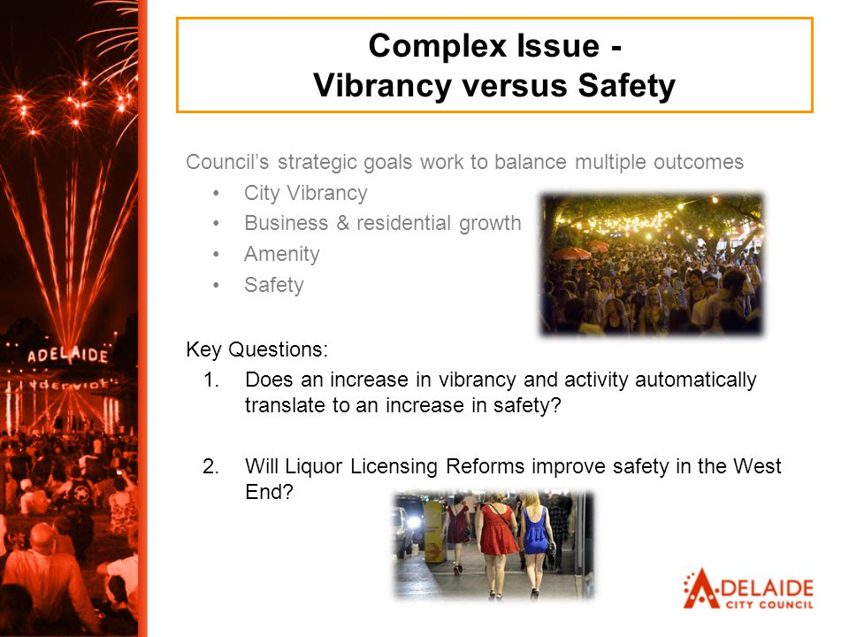 Does Vibrancy automatically mean increased Safety.