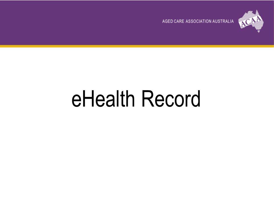 eHealth Record