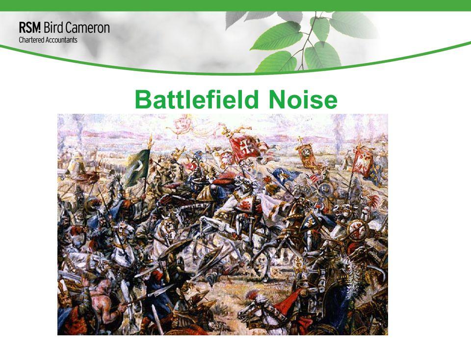 Battlefield Noise