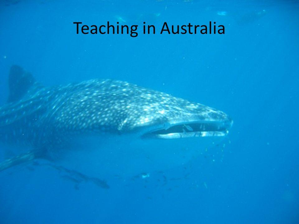 Teaching in Australia