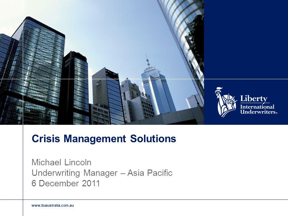 www.liuaustralia.com.au Crisis Management Case Studies Analysis