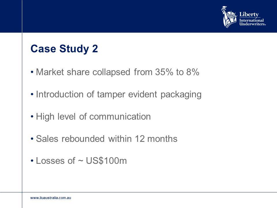 www.liuaustralia.com.au Case Study 3 Pasta manufacturer Strong Quality Assurance plan in place High salt content product Eroding metal conveyor belt