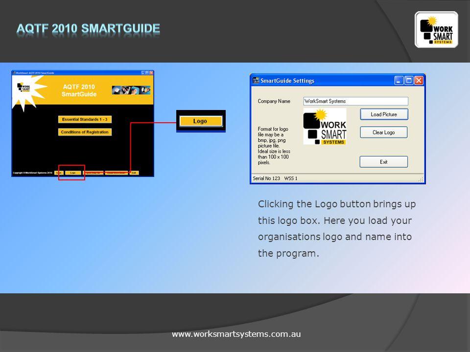 www.worksmartsystems.com.au Opens a Word Help file detailing how the program works.