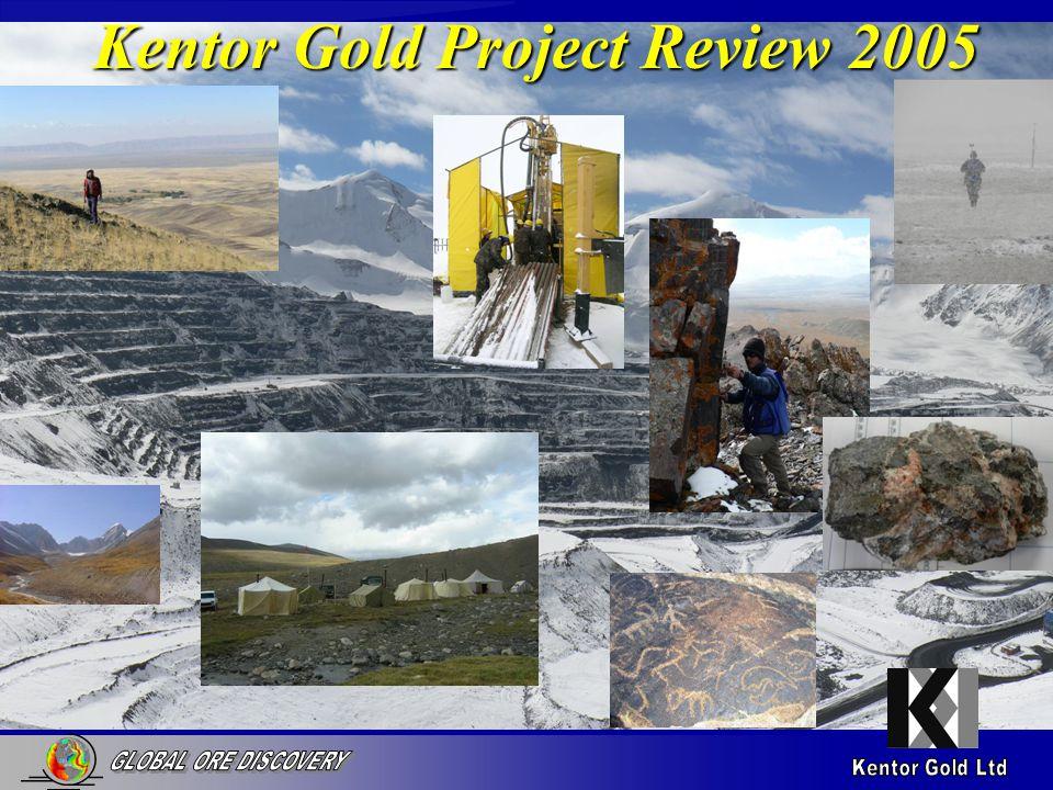 Key Elements of Kumtor Gold Target Structure Buried intrusive Carbonaceous host rocks.