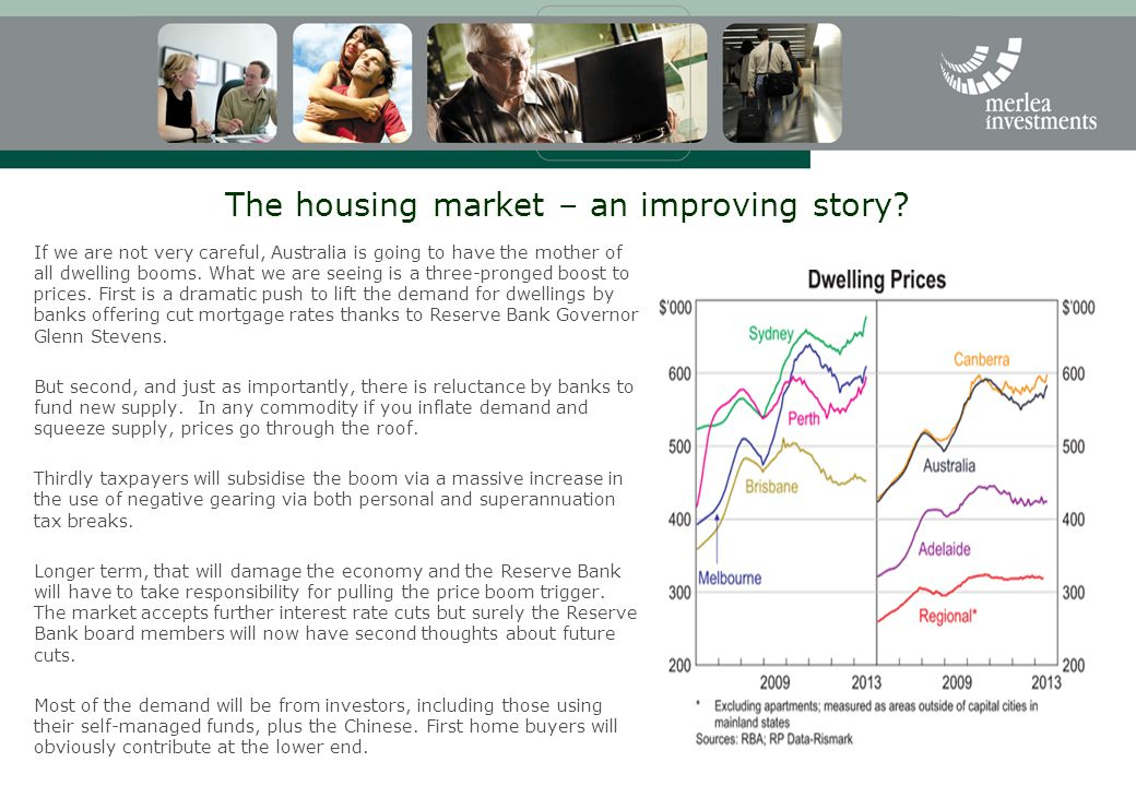 The housing market – an improving story.