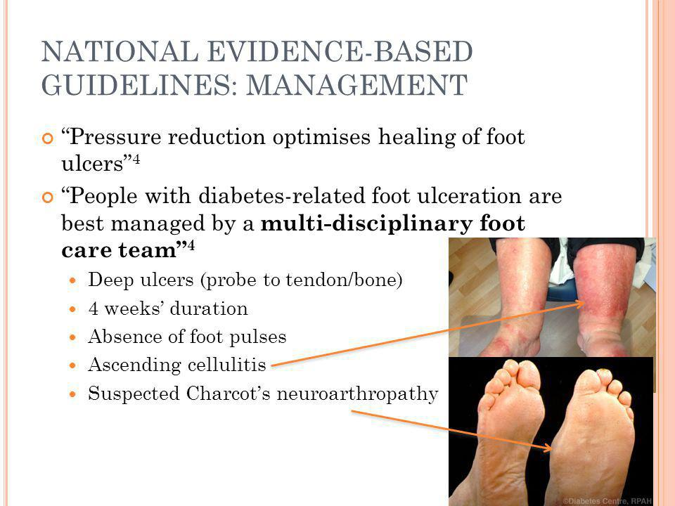USING THE DIABETIC FOOT ASSESSMENT FORM ON MMEX Formulated by Deborah Schoen Universal form for all diabetic foot assessments Evidence-based Available on MMEx for all users Able to attach completed forms to patient record Easy to use & risk is automatically calculated 5 essential components 1.