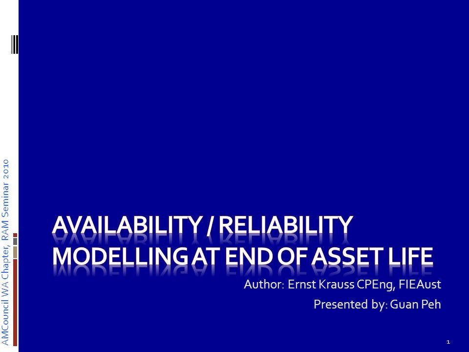 AMCouncil WA Chapter, RAM Seminar 2010 End of Asset Life… 2