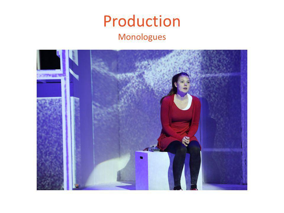 Production Monologues