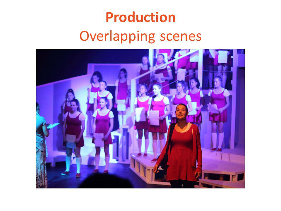 Production Overlapping scenes