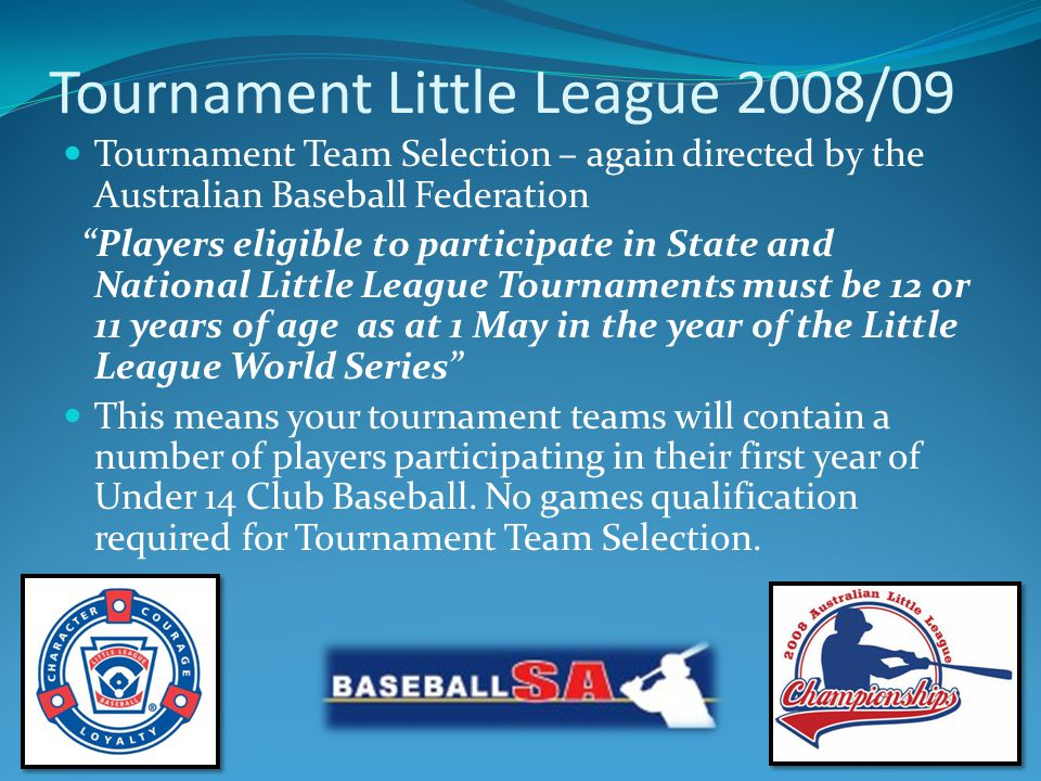 Australian Little League Player Pledge I WILL PLAY FAIR AND STRIVE TO WIN BUT WIN OR LOSE I WILL ALWAYS DO MY BEST