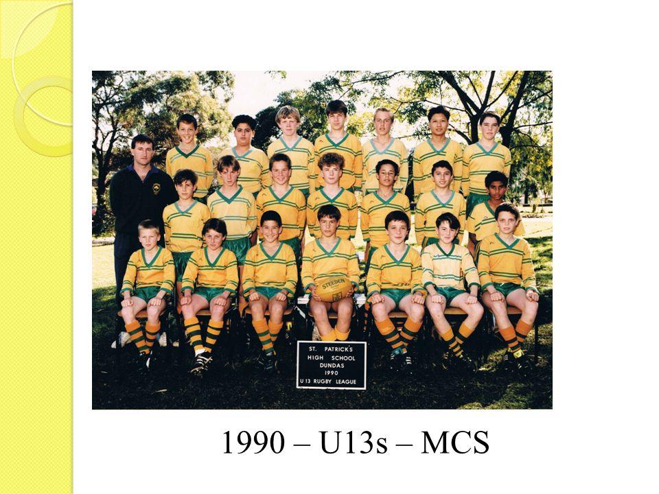 1990 – U13s – MCS
