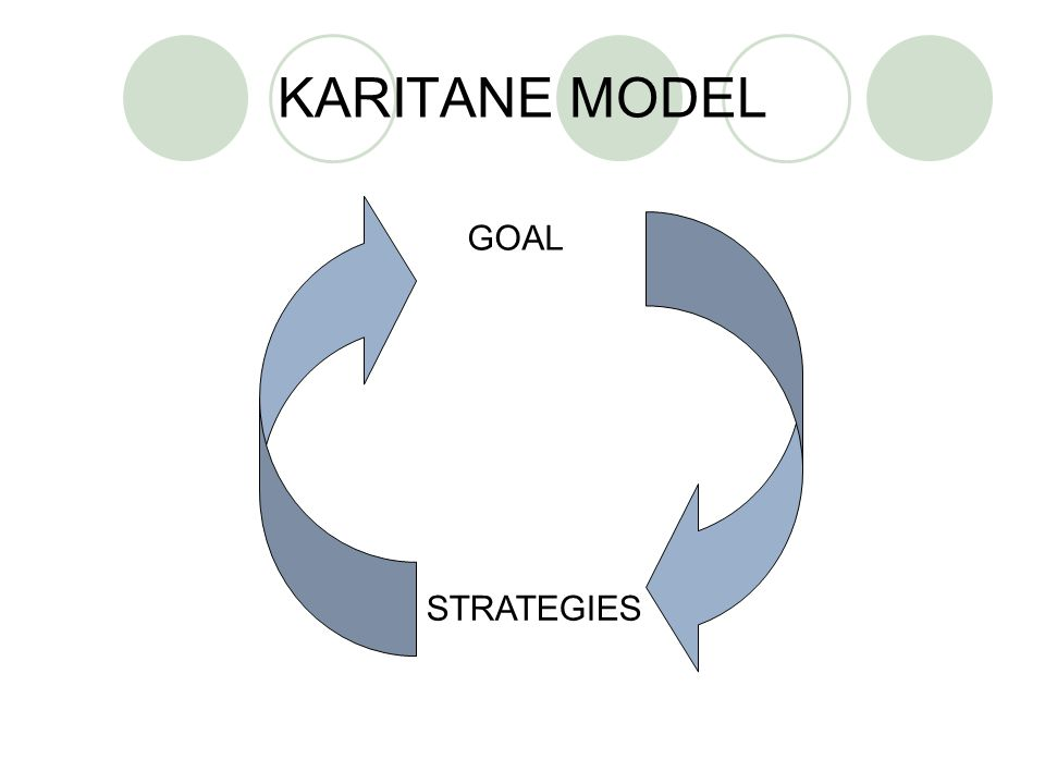 KARITANE MODEL GOAL STRATEGIES