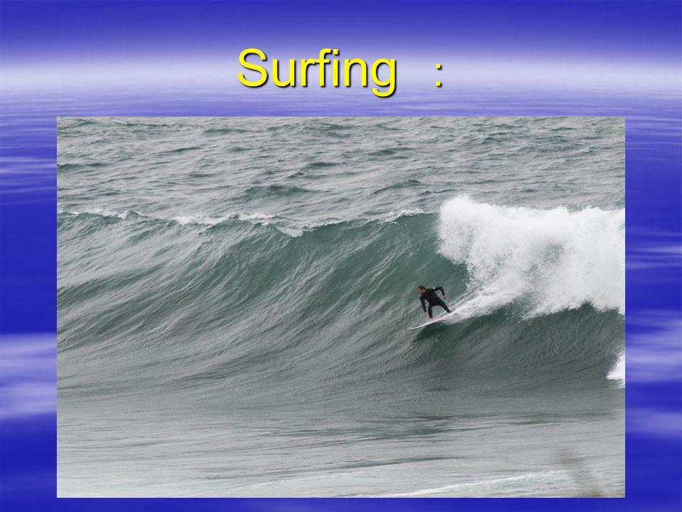 Surfing :