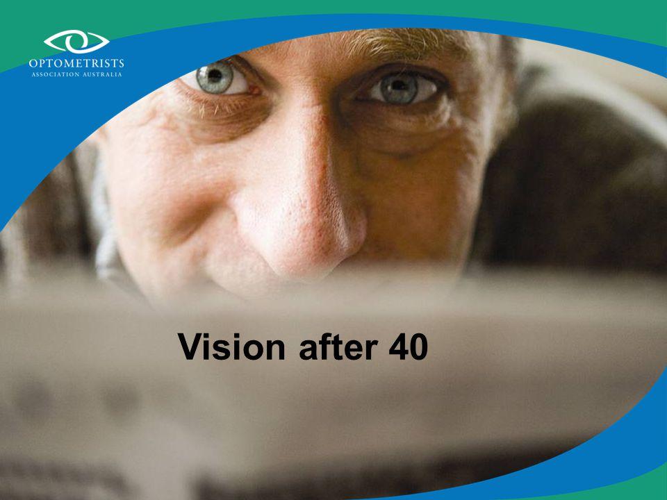 Vision after 40