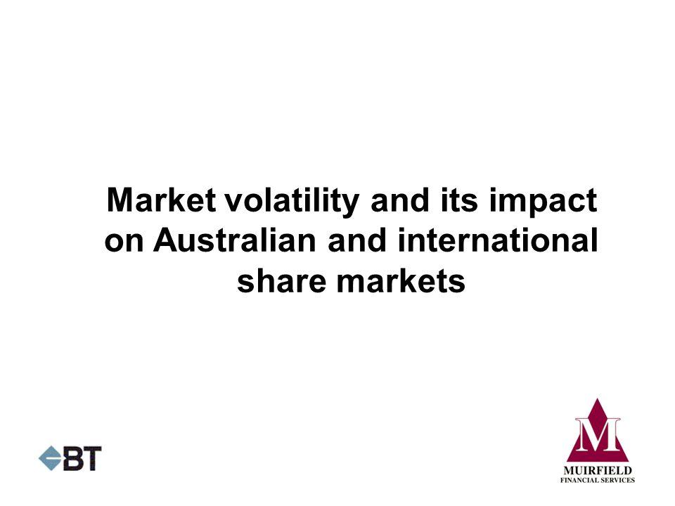 Market volatility and its impact on Australian and international share markets