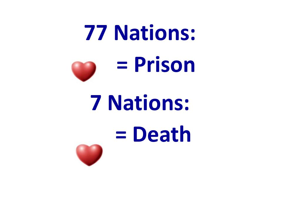 77 Nations: = Prison 7 Nations: = Death