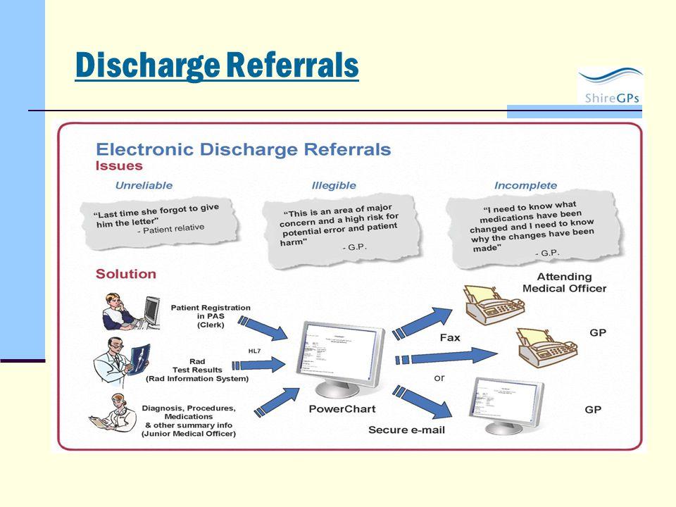Discharge Referrals