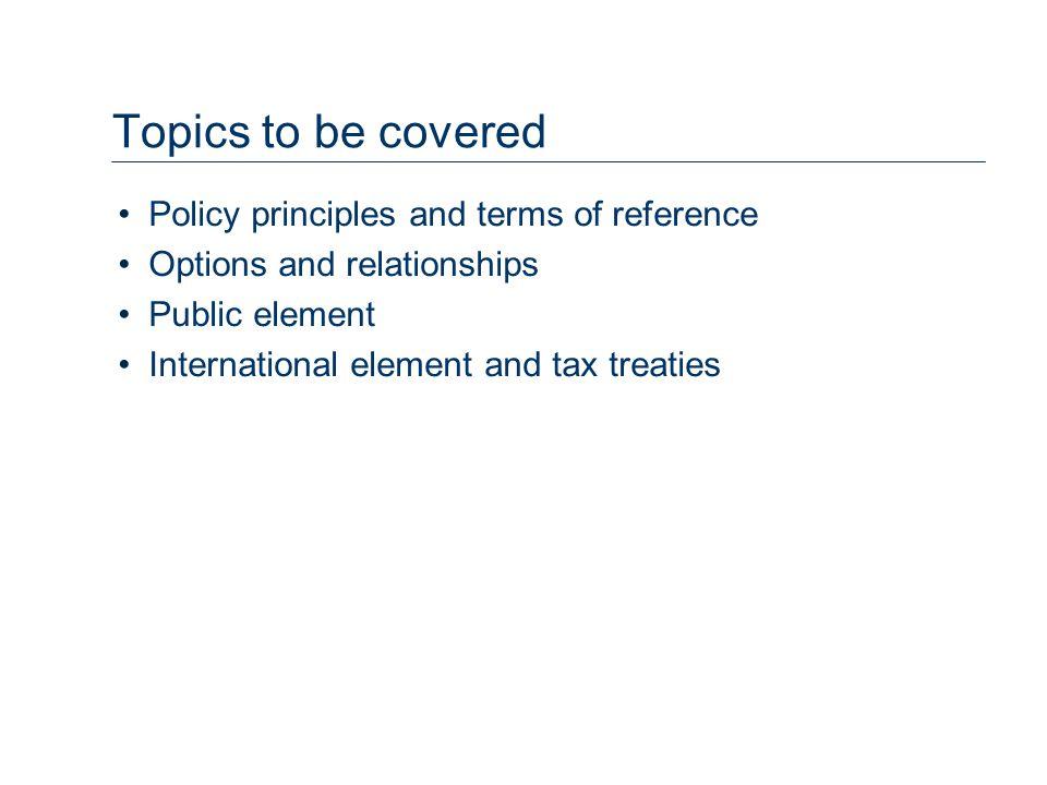 Capital/Revenue Policy.–replicating direct investors –discount capital gains.