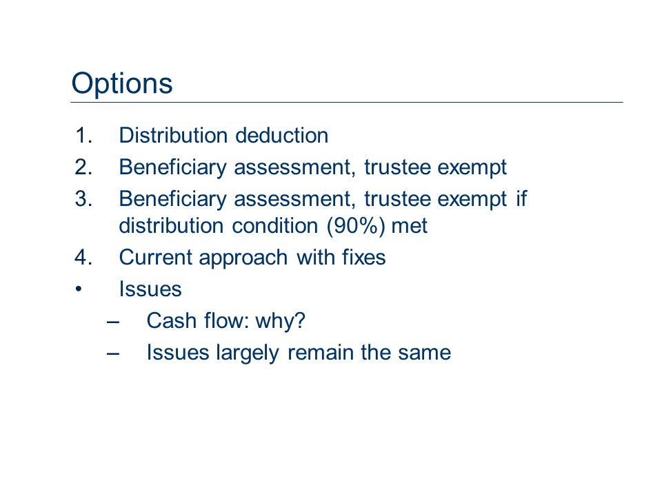 Control Already allowed, subject to Div 6B 51% 49% MIT BHP-B Sub Equities BHP-B