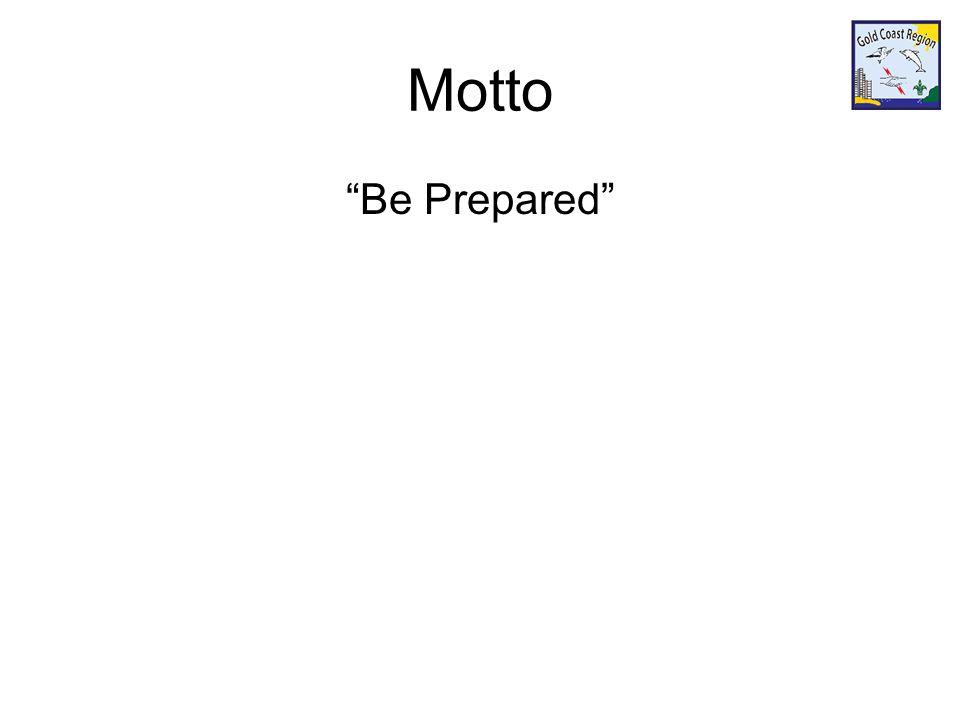 Motto Be Prepared