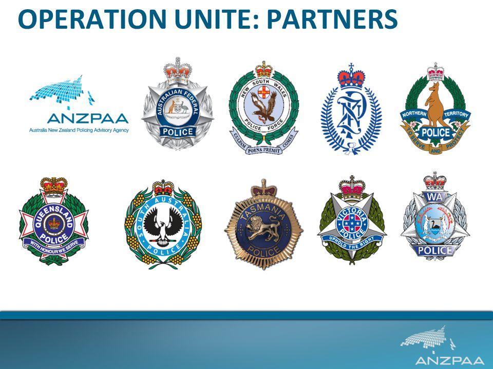 OPERATION UNITE: PARTNERS