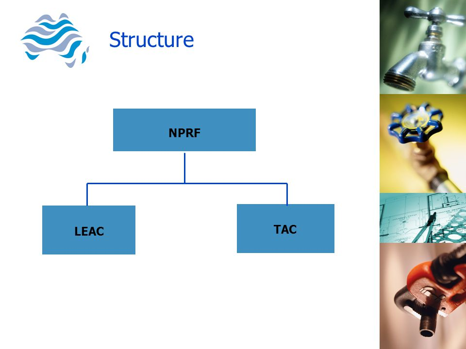 NPRF LEAC TAC Structure