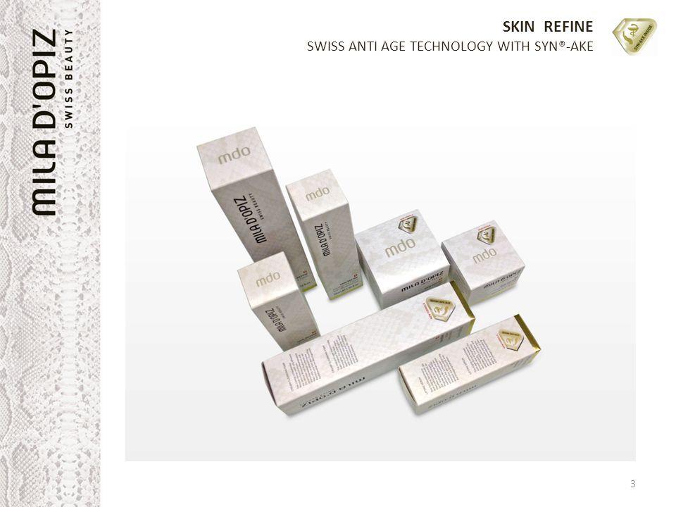 SKIN REFINE SWISS ANTI AGE TECHNOLOGY WITH SYN®-AKE 3