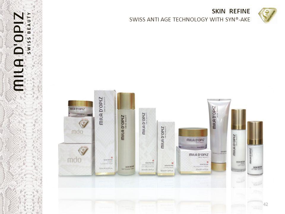 SKIN REFINE SWISS ANTI AGE TECHNOLOGY WITH SYN®-AKE 42